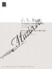 Bach Johann Sebastian | Triosonate, d-Moll  BWV 1036 | Noty na příčnou flétnu