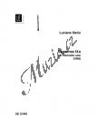 Berio Luciano | Sequenza IXa | Noty na klarinet