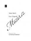 Reich Steve   Four Organs   Provozovací partitura - Noty na elektrické varhany
