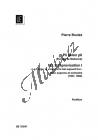 Boulez Pierre   Improvisation I, no. 2 aus
