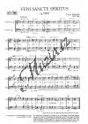 Janáček Leoš | Veni sancte spiritus | Sborová partitura - Noty pro sbor