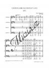Janáček Leoš | Unstete Liebe 3 Männerchöre a capella nach Volkstexten | Sborová partitura - Noty pro sbor