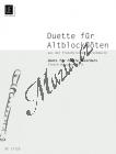 Album | Aus der französischen Barockmusik Duette für Altblockflöten vol. 2: | Provozovací partitura - Noty na zobcovou flétnu