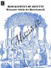 Album | Bekannte Stücke der Barockmusik Blockflötenquartette, vol. 4 | Provozovací partitura - Noty na zobcovou flétnu