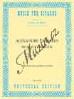 Tansman Alexandre | Musique de cour, for Guitar and Chamberorchestra | Klavírní výtah - Noty na kytaru