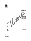 Pärt Arvo   Fratres   Set partů - Noty na violoncello