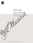 Gershwin George  | 3 Preludes | Partitura a party - Noty na saxofon