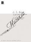 Bach Johann Sebastian | 15 zweistimmige Inventionen | Noty na příčnou flétnu