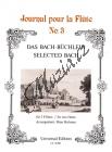 Bach Johann Sebastian | Bach-Büchlein | Noty na příčnou flétnu