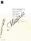 Corelli Arcangelo | Šest sonát, Sešit 1 (Sonáty 1-3) pro dvě zobcové flétny a basso continuo  | Partitura a party - Noty na zobcovou flétnu