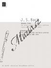 Bach Johann Sebastian | Sonate, F-Dur  BWV 1035 | Noty na zobcovou flétnu