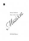 Feldman Morton | Piano, Violin, Viola, Cello | Provozovací partitura - Noty pro Klavírní kvartet