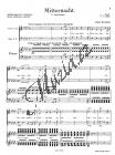 Bruckner Anton   Mitternacht, As-Dur   Klavírní výtah - Noty pro sbor