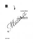 Berio Luciano   Sequenza IXc   Noty na basklarinet