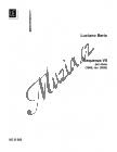 Berio Luciano | Sequenza VIIa | Noty na hoboj