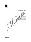 Rihm Wolfgang | Rilke: 4 Gedichte | Noty pro sólový zpěv