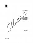 Pärt Arvo  | Fratres - pro čtyři hráče na bicí nástroje (1977, 2006) | Studijní partitura - Noty