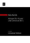Bartók Béla | Konzert für Klavier und Orchester no.1 | Studijní partitura - Noty pro orchestr