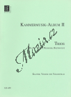 Glossner Gustav Adolf | Kammermusik Album II -Trios mit Werken von Haydn,Weber,Reissiger,Beethoven | Partitura a party - Noty pro Klavírní kvartet