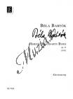 Bartók Béla | Herzog Blaubarts Burg  Oper in einem Akt, Op. 11 | Klavírní výtah - Noty