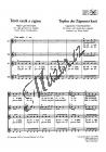 Kodály Zoltán | Topfen der Zigeuner kaut | Sborová partitura - Noty pro sbor