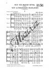 Bartók Béla | 4 altungarische Volkslieder | Sborová partitura - Noty pro sbor