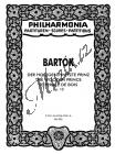 Bartók Béla | Der holzgeschnitzte Prinz, Op. 13 | Kapesní partitura - Noty pro orchestr