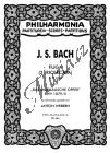 Bach Johann Sebastian  | Fuga (2. Ricercata) a 6 voci, BWV 1079/5 | Kapesní partitura - Noty pro orchestr