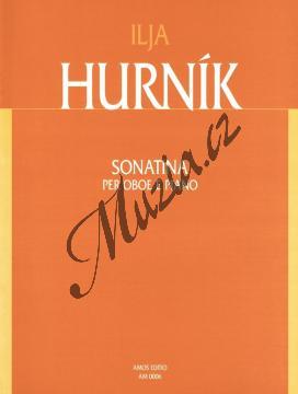 Hurník Ilja | Sonatina pro hoboj a klavír | Noty na hoboj - AM0006.jpg