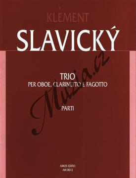 Slavický Klement | Trio pro hoboj, klarinet a fagot | Set partů - Noty-komorní hudba - AM0013.jpg