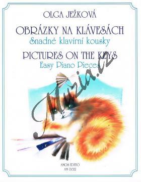 Ježková Olga | Obrázky na klávesách - Snadné klavírní kousky | Noty na klavír - AM0022.jpg