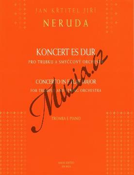 Neruda Jan | Koncert Es dur pro trubku a smyčcový orchestr | Klavírní výtah - Noty na trubku - AM0024.jpg