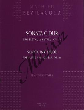 Bevilacqua Mathieu   Sonáta G dur pro flétnu a kytaru, op. 38   Noty na příčnou flétnu - AM0026.jpg