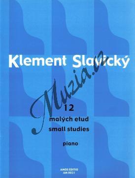 Slavický Klement | 12 malých etud pro klavír | Noty na klavír - AM0031.jpg