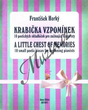 Horký František | Krabička vzpomínek - 10 poetických skladbiček pro začínající klavíristy | Noty na klavír - AM0041.jpg