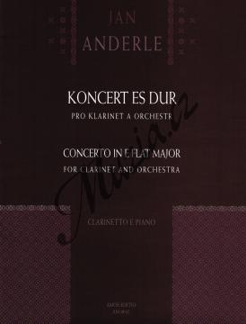 Anderle Jan | Koncert Es dur pro klarinet a orchestr | Noty na klarinet - AM0042.jpg