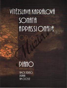 Kaprálová Vítězslava | Sonata appassionata, op. 6 | Noty na klavír - AM0052.jpg