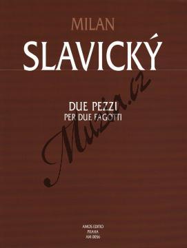 Slavický Milan | Due pezzi per due fagotti | Noty na fagot - AM0056.jpg