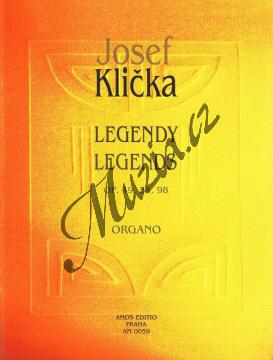 Klička Josef | Legendy op. 49, 54, 98 | Noty na varhany - AM0059.jpg
