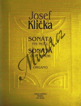 Klička Josef | Sonáta fis moll | Noty na varhany - AM0065.jpg