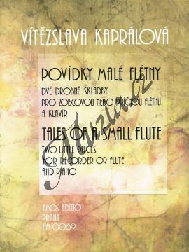 Kaprálová Vítězslava | Povídky malé flétny | Noty na zobcovou flétnu - AM0069.jpg