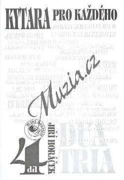 Horáček Jiří   Kytara pro každého 4. díl / Dua, tria, souborová hra   Noty na kytaru - AMK004.jpg