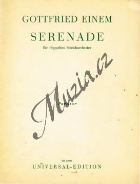 Einem Gottfried | Serenade für doppeltes Streichorchester | Velká partitura - Antikvariát-použité zboží! - AntMUZ0048.jpg