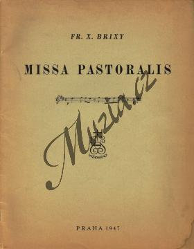 Brixi František Xaver | Missa Pastoralis in D | Velká partitura - Antikvariát-použité zboží! - AntMUZ0052.jpg