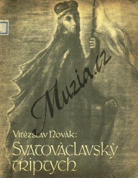 Novák Vítězslav | Svatováclavský triptych op. 70 pro velký orchestr a varhany  | Velká partitura - Antikvariát-použité zboží! - AntMUZ0057.jpg