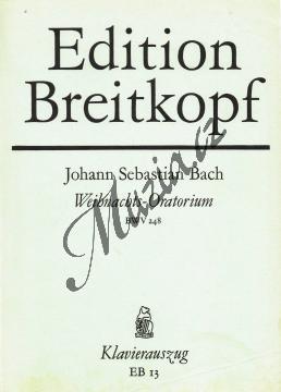 Bach Johann Sebastian | Vánoční oratorium | Klavírní výtah - Antikvariát-použité zboží! - AntMUZ0086.jpg