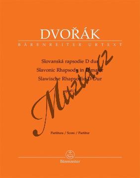 Dvořák Antonín | Slovanská rapsodie D dur op. 45/1 | Partitura - Noty pro orchestr - BA10401.jpg