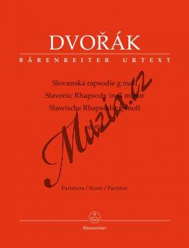 Dvořák Antonín   Slovanská rapsodie g moll op. 45/2   Partitura - Noty pro orchestr - BA10402.jpg
