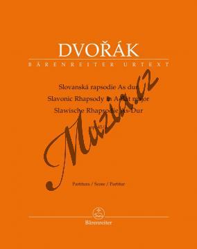 Dvořák Antonín | Slovanská rapsodie As Dur op. 45/3 | Partitura - Noty pro orchestr - BA10403.jpg