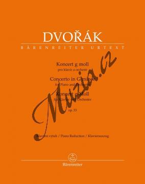 Dvořák Antonín | Koncert g moll pro klavír a orchestr op. 33 | Klavírní výtah - Noty na klavír - BA10420-90.jpg